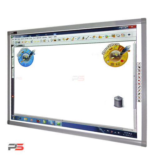 برد هوشمند الیوتی دو کاربره olivetti electromagnet whiteboard