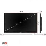 نمایشگر لمسی ویوسونیک ViewSonic IFP5550-Gen2