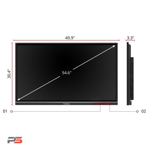 نمایشگر لمسی ویوسونیک ViewSonic IFP5550-Gen3