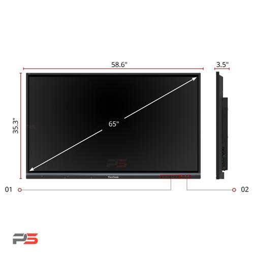 نمایشگر لمسی ویوسونیک ViewSonic IFP6550-E4