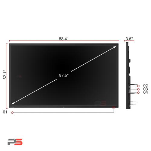 نمایشگر لمسی هوشمند ویوسونیک ViewSonic IFP9850